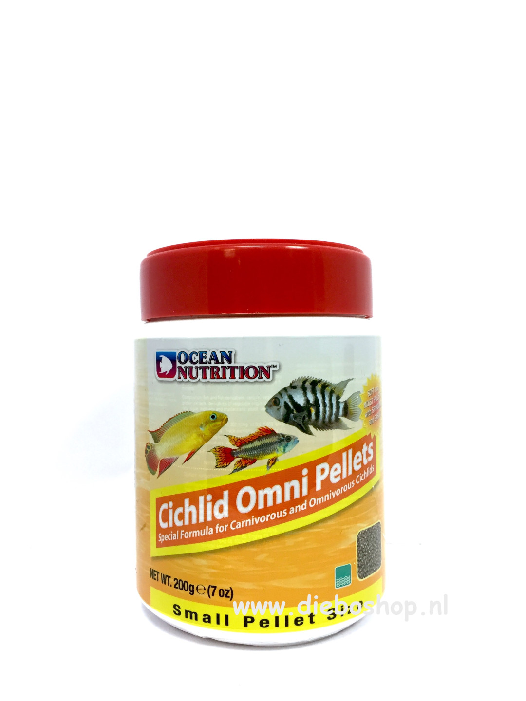 On Cichlid Omni Pellets Small