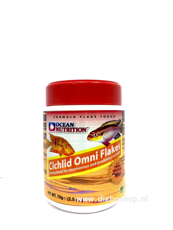 On Cichlid Omni Flake