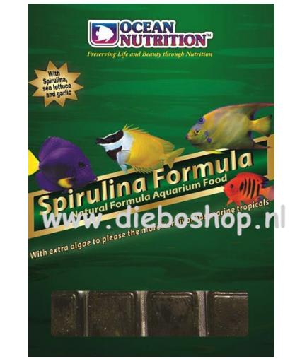 On Blister Spirulina Formula