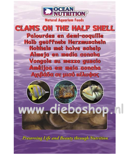 On Blister Clams On The Half Shell