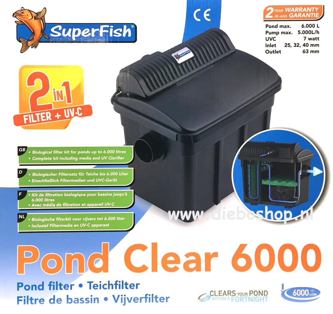 SF Pondclear 6000 Uvc 7W