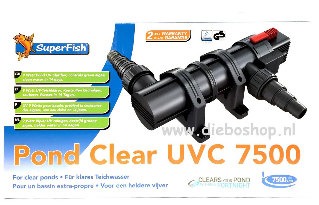 SF Pondclear Uvc 9W / 7500 Ltr