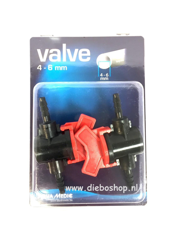 Aqua Medic Valve 4-6 mm