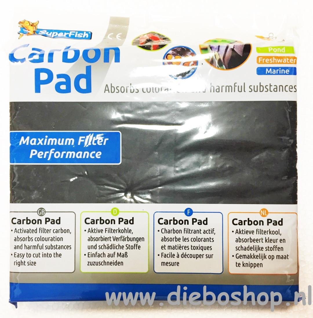 SF Carbon Pad 45 X 25 cm