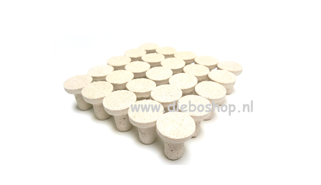 Achilles Aragonite Frag Plugs
