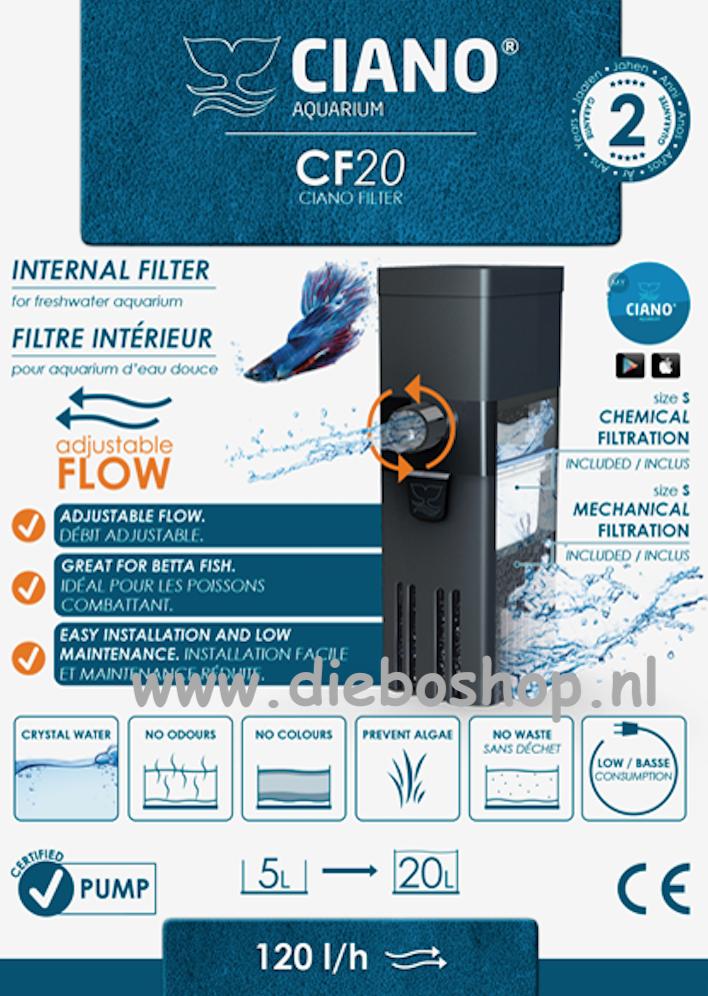 Ciano Cf20 Binnenfilter