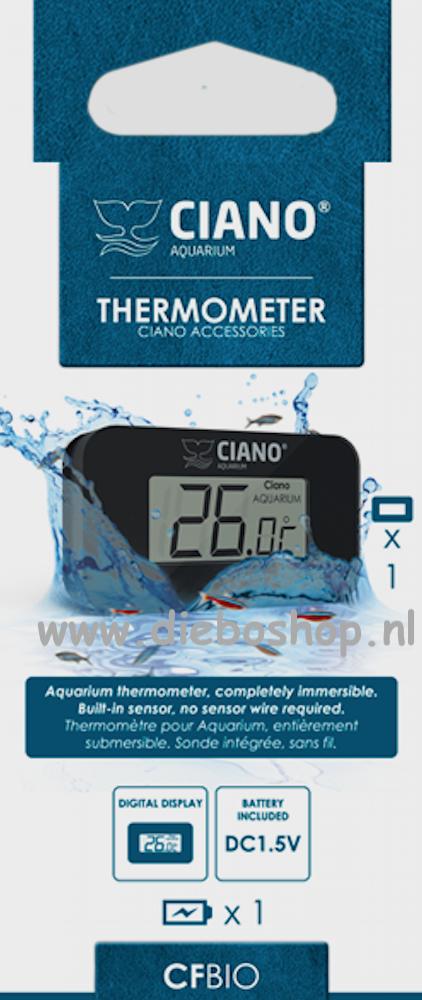 Ciano Digitale Thermometer
