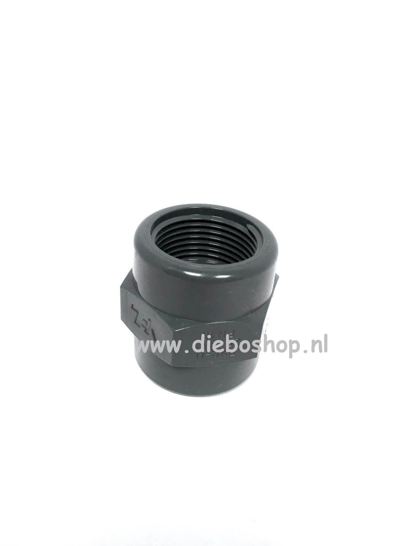 Loc-Line 3/4 Pvc Draadsok 25mm X Npt