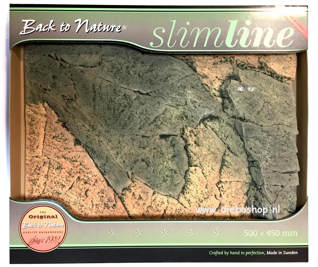 Btn Achterwand Slimline 50A Basalt/Gneis