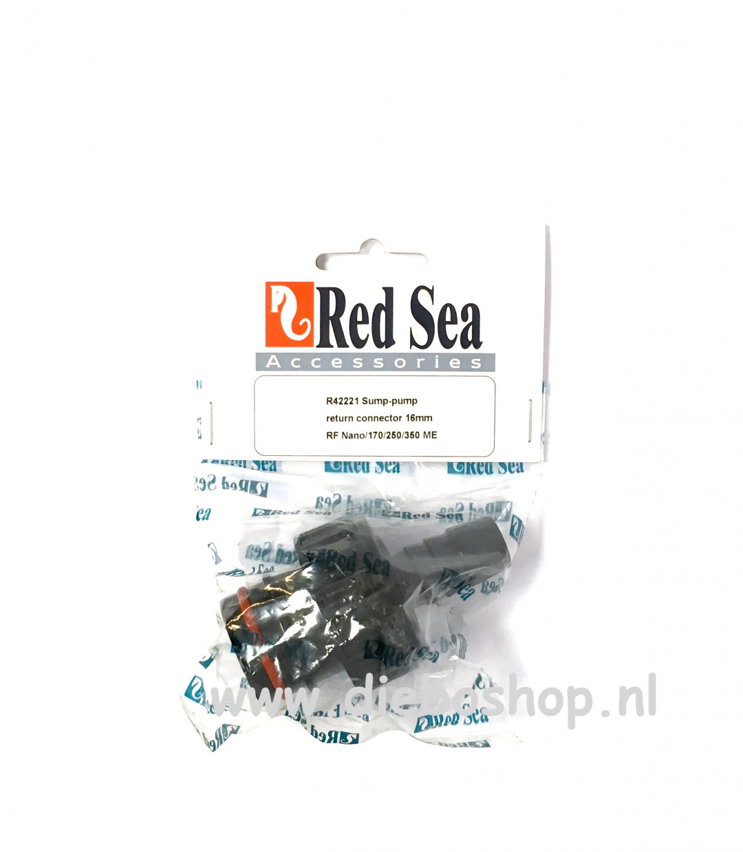 Red Sea Sump Pump Return Connector 16mm