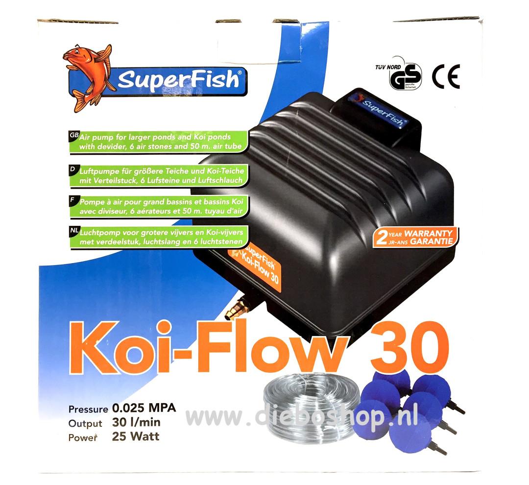 SF Koi Flow 30 Prof Beluchting Set