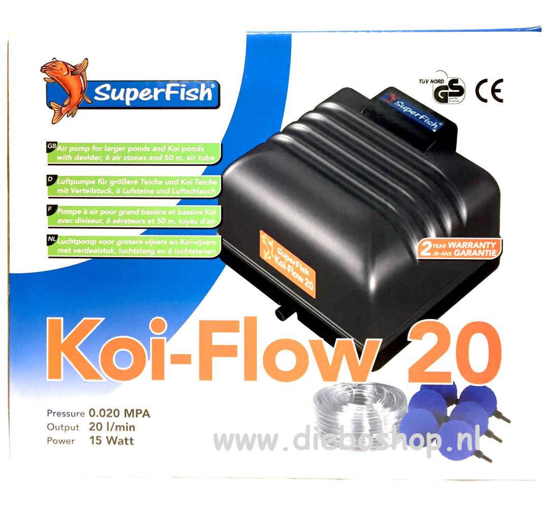 SF Koi Flow 20 Prof Beluchting Set