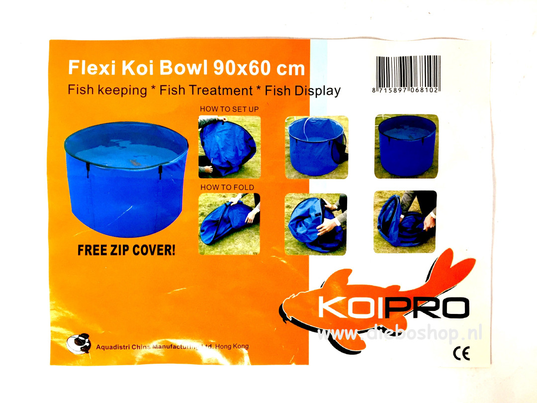 Koi Pro Flexi Koi Bowl 90X60cm