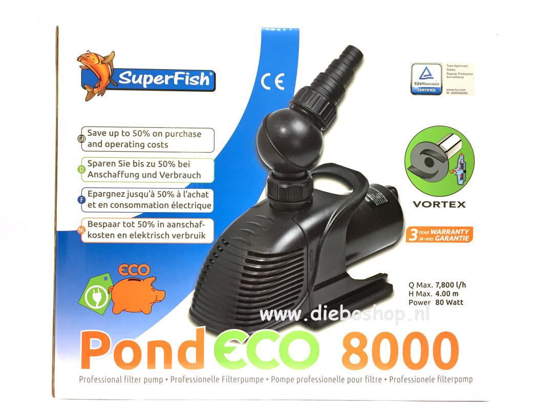 SF Pond Eco 8000