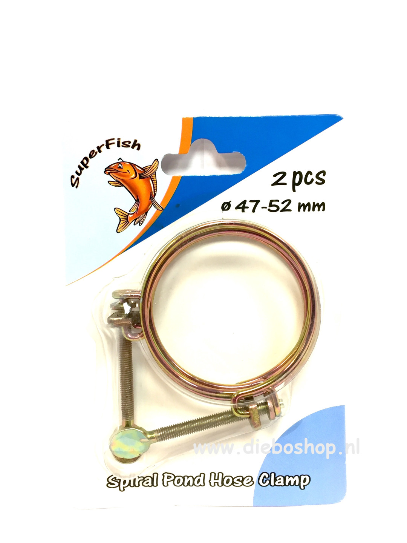 Draadslangklem 47-52 mm Per 2