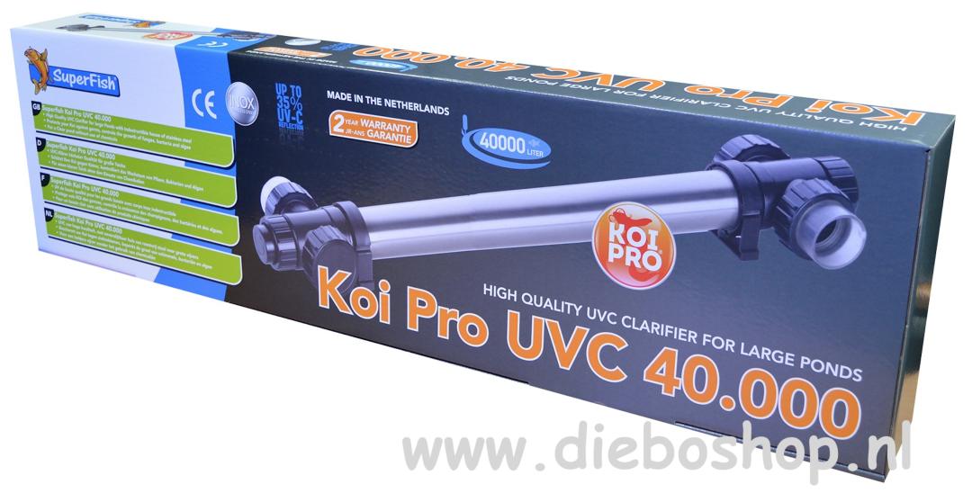 SF Koi Pro Rvs Uvc T5 40W / 40000 Ltr