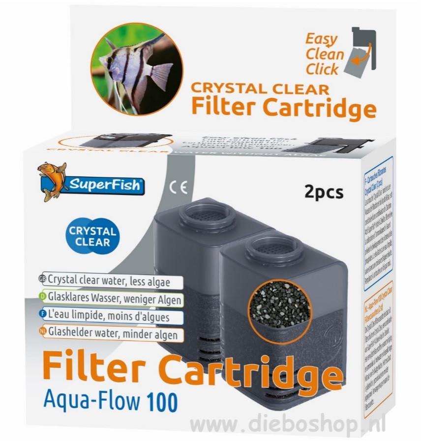 SF Aqua Flow 100 Crystal Clear Cassette