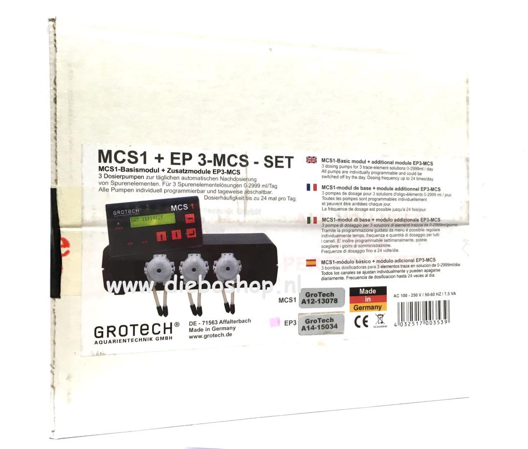 Grotech Dosing Pump MCS1+EP 3MCS 3 Channel Set