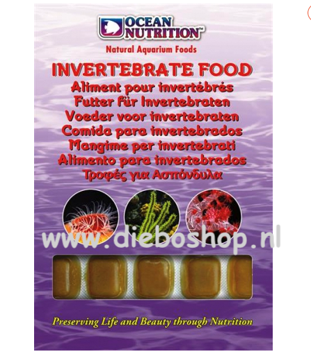 On Blister Invertabrate Food