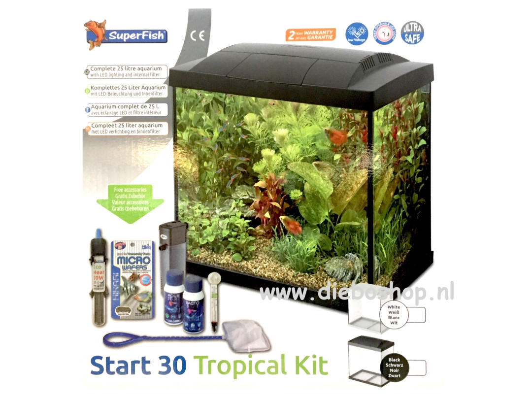 SF Start 30 Tropical Kit Zwart