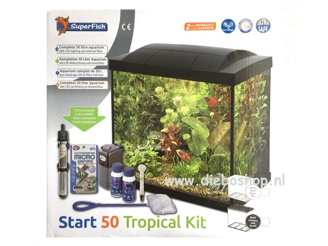 Sf Start 50 Tropical Kit Zwart