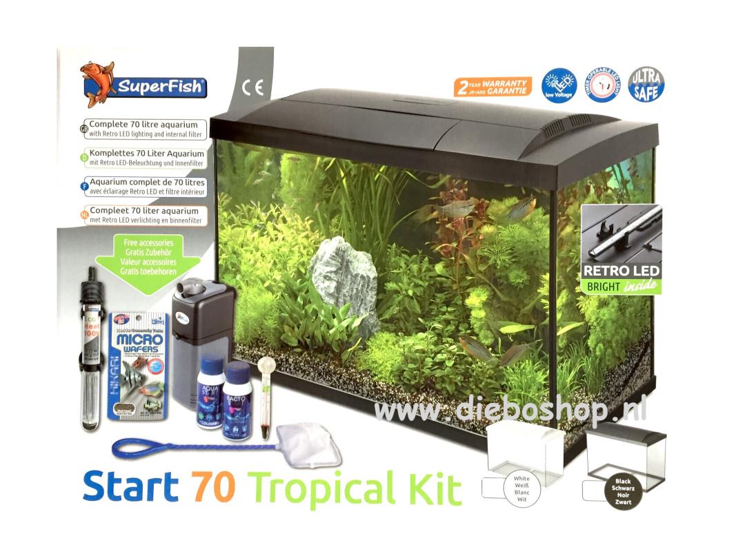 Sf Start 70 Tropical Kit Zwart