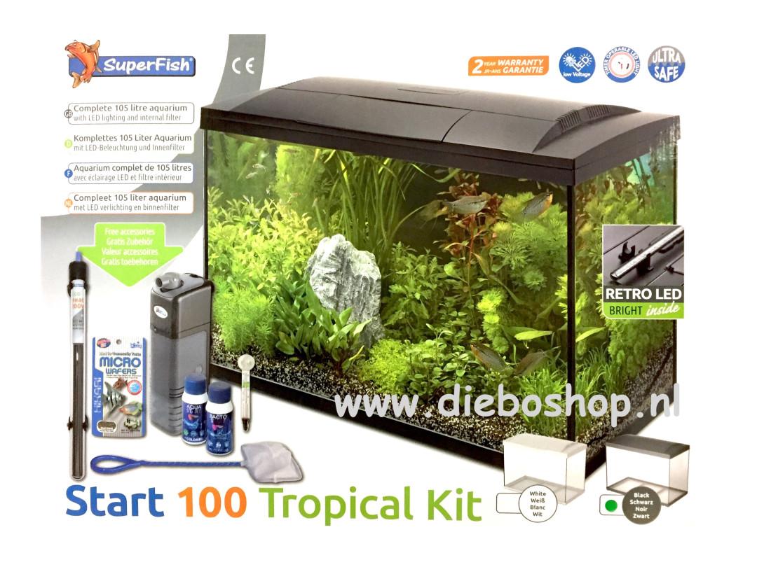 Sf Start 100 Tropical Kit Zwart