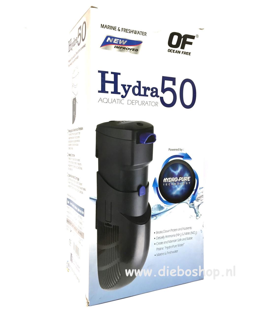 Hydra Ocean Free Binnenfilter 50