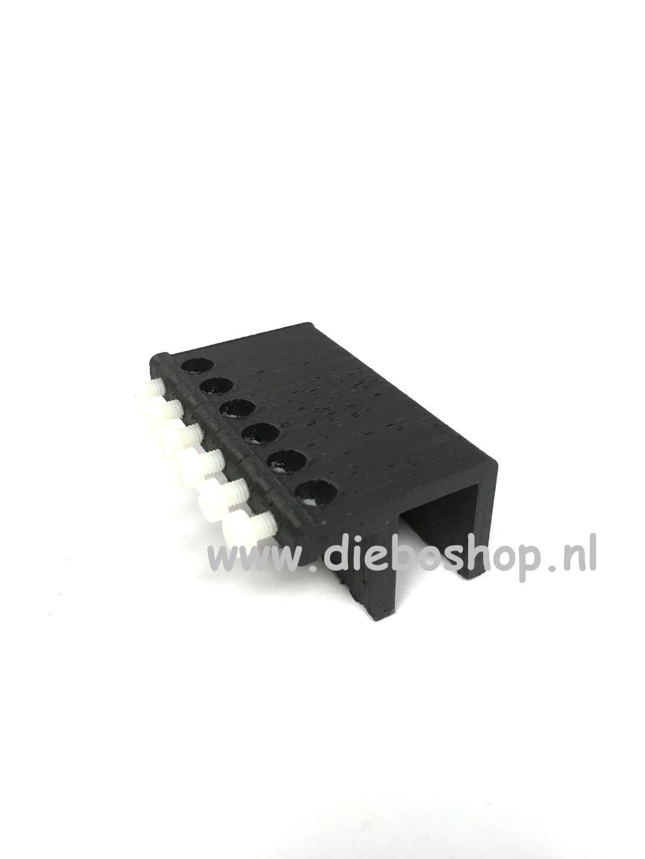 Aqua Connect Slanggeleider 6-Way Gl