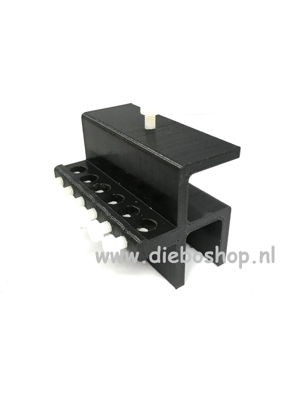 Aqua Connect Slanggeleider 6-Way St/Gl