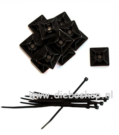 Ecotech Vortech Cable Tie And Mount Kit